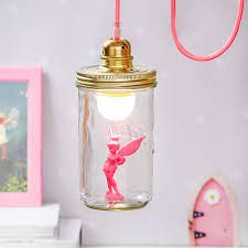 pink fairy in a jar light by thelittleboysroom