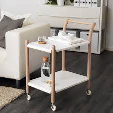 Ikea PS  Side Table On Castors Ikea Ps Kitchen Trolley And - Kitchen side table