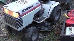 1989 craftsman gt 20 garden tractor 6 speed 44