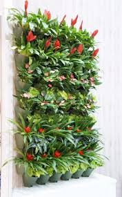 self watering vertical planters self watering vertical flower plant hanging wall garden home decor