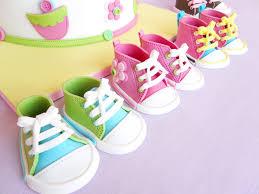 deborah hwang cakes how to make fondant baby converse shoes