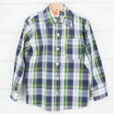 scottish plaid button up shirt smocked auctions