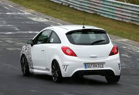 opel 2014 spyshots new opel corsa opc nurburgring testing autoevolution