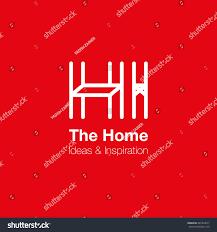 home interior logo design vector logo stock vector 481823617