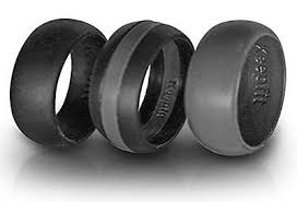 mens silicone wedding band silicone wedding rings toronto jewerly ideas gallery
