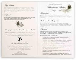 Wedding Program Sample Template Wedding Ceremony Program Template Catholic Wedding Ceremony