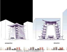 2002 u2013 asian architecture concept sketches