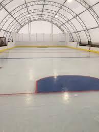 outdoor skating rink winkler structures