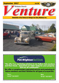 waikato vcc september 2017 by vintage car club of new zealand issuu