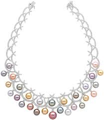 natural pink pearl necklace images Pearls exhibition at london 39 s v a museum jewels du jour jpg