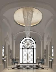 entrance lobby dubai ions design black u0026 white pinterest