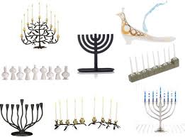 modern menorah shopping for modern menorahs from jonathan adler michael aram