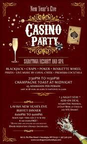 new year u0027s eve casino party 2 night stay