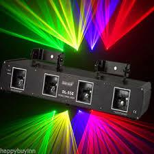 shinp pro 460mw 4lens rgpy green purple yellow laser light