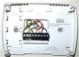 wiring honeywell thermostat thermostat wiring diagram forest river
