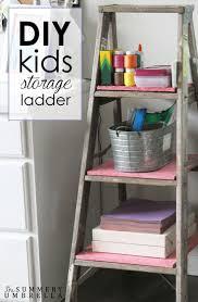 Diy Kids Storage Bench 28 Best Ladders Display U0026 Decoration Images On Pinterest