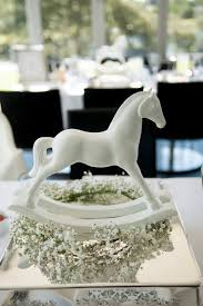 Carousel Horse Centerpiece by Kara U0027s Party Ideas Rocking Horse Centerpiece From An Elegant White