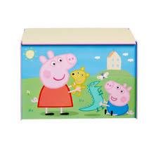 peppa pig toy box ebay