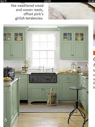 grey and green kitchen green country kitchens home improvement ideas
