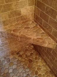 travertine u0026 pebble bathroom modern bathroom boston by