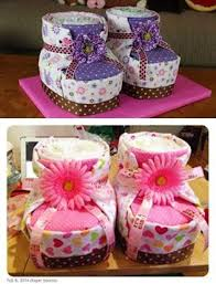 diy diaper cake baby booties for baby shower picmia