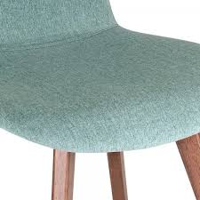 Hudson Dining Chair Cult Living Hudson Upholstered Dining Chair Soft Teal Cult Uk