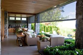 Outdoor Patio Roll Up Shades by Roll Up Patio Shades Interior Design Ideas Contemporary On Roll Up