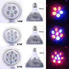 54w flower led light e27 ac85 265v full spectrum led plant grow l