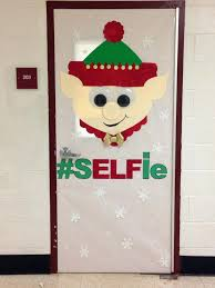 Large Christmas Elf Decorations by Christmas Door Decorating Contest Ideas For The Office Elf