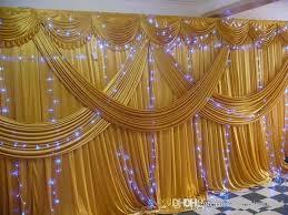 wedding backdrop canopy 2015 new fashion fabric satin drape curtain wedding backdrop