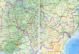Map Of China Provinces Jilin Map Map Of Jilin Jilin Province Map