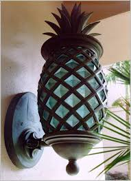 pineapple outdoor light fixtures pineapple outdoor lighting comfy pineapple outdoor light intended