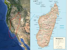 Map Of Madagascar Introduction U2013 The Naturalist U0027s Travel Page