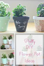 summer celebration pretty little diy flower pots making it in