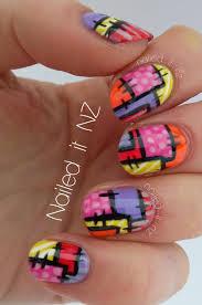 patchwork nail art tutorial