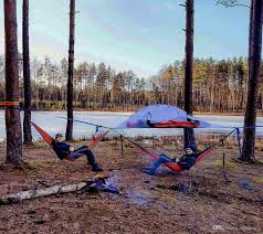 skysurf outdoor cpaming tree tent hanging hammock tree tent two