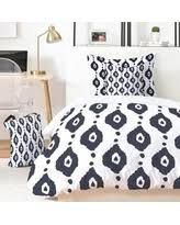 sweet deal on deny designs 61800 comkin bohemian indigo ikat