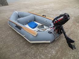 avon redcrest inflatable dinghy u0026 2 5hp mercury outboard in