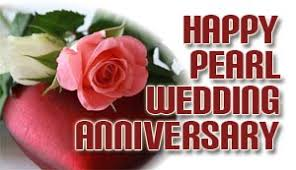 Wedding Day Wishes For Card Pearl Wedding Anniversary Wishes And Messages