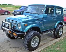 suzuki samurai description of the model photo gallery