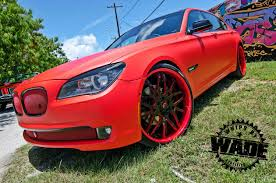 matte red bmw tate design matte red 7 series whipsbywade com youtube