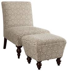 armless chair and ottoman set gorgeous accent chair and ottoman set accent chairs collection on