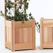 Small Trellis Planter 3 Pc Planter Set With Trellis Pl10 Set
