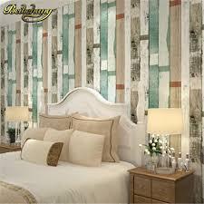 papiers peints pour chambre beibehang panneau de bois rayures vintage papier peint rouleau