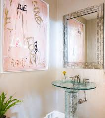 Powder Room Vanities Contemporary Elegant Powder Rooms Powder Room Traditional With Wall Sconces