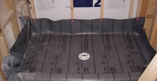 shower uncommon vinyl shower pan liner installation superb vinyl