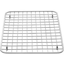 InterDesign Gia Kitchen Sink Protector Grid Regular Polished - Kitchen sink grid
