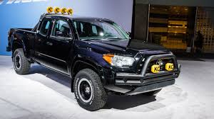 future bugatti truck toyota tacoma back to the future truck 2015 la auto show