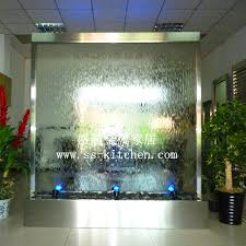 Indoor Standing Water Fountains by Bathroom Water Walls Steel Water Fountain Waterfall Water