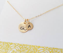 Initial Necklaces For Moms Gold Infinity Necklace Gold Filled Initial Necklace Personalized